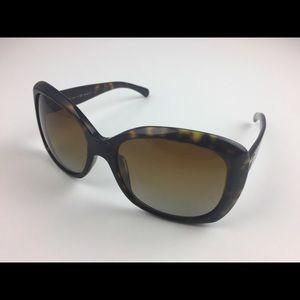 Chanel women's sunglasses brown polarized gradient
